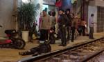 Ngồi chơi trên đường sắt, bị tàu cán tử vong tại chỗ