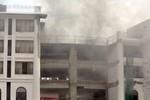 Cháy lớn tại khách sạn 5 sao