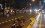 Băng qua xa lộ Hà Nội, một cụ ông tử vong