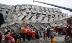 Xác định có 4 người Việt mắc kẹt trong nhà sập do động đất ở Đài Loan