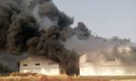 Xưởng công ty sản xuất nhựa cách nhiệt cháy lớn