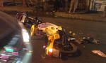 Va chạm xe máy trong đêm, 3 thanh niên nguy kịch