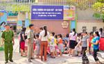 Hơn 500 học sinh mầm non di tản vì... chuông báo cháy