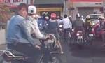 Đôi nam nữ giật điện thoại ở bờ kè kênh Nhiêu Lộc bị bắt nhờ camera hành trình