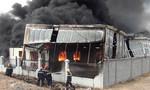 Cháy lớn tại công ty hóa chất ở Bình Dương