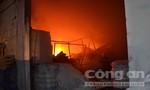 Hơn 100 chiến sĩ PCCC được huy động dập đám cháy lớn