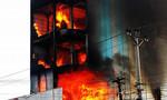 Gia Lai: Ngọn lửa bao trùm tòa nhà 6 tầng lớn nhất huyện Chư Sê