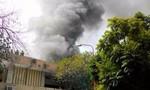 Cháy lớn tại cung Thiếu nhi Hà Nội