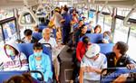 Ga Sài Gòn vận chuyển hành khách bằng xe trung chuyển