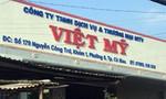Tiêu hủy 5 loại thuốc thú y ngoài danh mục tại công ty Việt Mỹ