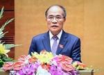 Quốc hội tán thành ông Nguyễn Sinh Hùng thôi nhiệm vụ