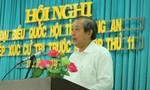 Chánh án Toà án Nhân dân Tối cao Trương Hoà Bình tiếp xúc cử tri tỉnh Long An