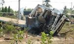 Cán đinh nổ lốp trên quốc lộ, 3 người tử vong trên xe tải