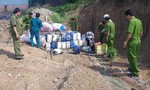 Chôn lấp, đổ chất thải công nghiệp ra môi trường bị phạt hơn 700 triệu đồng
