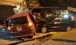 Hai ô tô tông 1 xe máy, 3 người thương vong