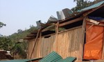 Mưa đá gây hư hỏng, tốc mái hàng chục ngôi nhà tại Nghệ An