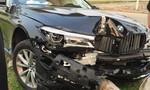 Lái thử siêu xe 5 tỷ gây tai nạn bể nát đầu xe