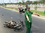 Tai nạn liên tiếp trên xa lộ Hà Nội