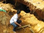 Quảng Nam: Ngạt khí hầm vàng, 4 người tử vong