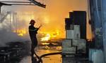 Hỏa hoạn khiến một xưởng chế biến gỗ ở Đồng Nai cháy trụi
