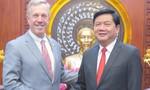 Bí thư Thành ủy Đinh La Thăng tiếp Đại sứ Hoa Kỳ tại Việt Nam