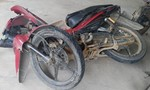 Xe tải tông xe máy, một người tử vong