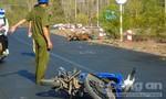 Hai xe máy đối đầu, 3 người bị thương