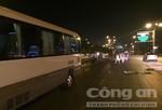 Chạy ngược chiều, tài xế xe khách 29 chỗ bị đánh nhập viện