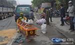 Người phụ nữ tử vong trên đường nghi do tai nạn giao thông