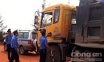 Tài xế xe vi phạm chống đối Thanh tra giao thông