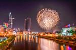 TP.HCM: Tưng bừng pháo hoa mừng ngày 30-4