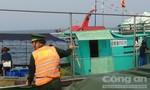 Xua đuổi 6 tàu cá Trung Quốc khai thác trái phép trên vùng biển Việt Nam