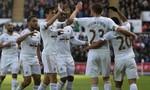 Swansea chặn đứng chuỗi 15 trận bất bại của Chelsea