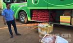 Cảnh sát giao thông bắt 175kg thịt thối