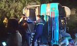 Lái xe đưa rước công nhân bị lật ở Long An bỏ trốn khỏi địa phương