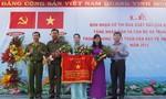 Xã Trung Lập Hạ nhận cờ thi đua xuất sắc của Bộ Công an