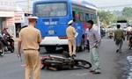 Xe khách đưa đón học sinh cán chết người đàn ông đi xe máy
