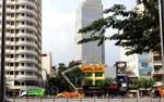 Tiến hành sửa chữa phố đi bộ Nguyễn Huệ