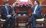 Bí thư Thành ủy TP.HCM Đinh La Thăng tiếp Đại sứ Thái Lan
