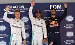 Hamilton xuất phát đầu, Red Bull qua mặt Ferrari