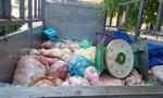 Bắt xe tải vận chuyển gần 450 kg mỡ động vật hôi thối