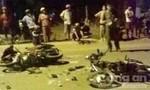 Hai xe máy đối đầu, ba người trọng thương
