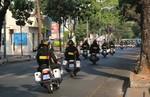 Lực lượng CSCĐ bảo đảm an ninh cho ngày bầu cử