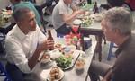 Ông Obama ghé ăn bún chả trên phố cổ Hà Nội