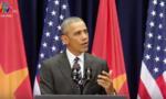 Tổng thống Obama: Sự thân thiện của người Việt đã chạm tới trái tim tôi