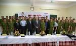 Tập huấn PCCC và cứu nạn cứu hộ cho cảnh sát Việt Nam và Lào