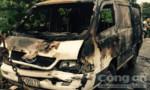 Tiền Giang: Xe khách bốc cháy dữ dội sau khi 3 ô tô tông liên hoàn
