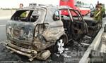 'Bà hỏa' thiêu rụi ô tô Captiva Chevrolet trên cao tốc