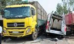 Tài xế xe khách chạy lấn tuyến gây tai nạn 4 người chết ở Quảng Ngãi