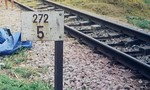 Tai nạn đường sắt, một thanh niên nguy kịch